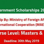 Italy Government Scholarship 2019-2020