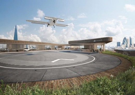 In Germany Successful Testing Flight of Flying Taxi