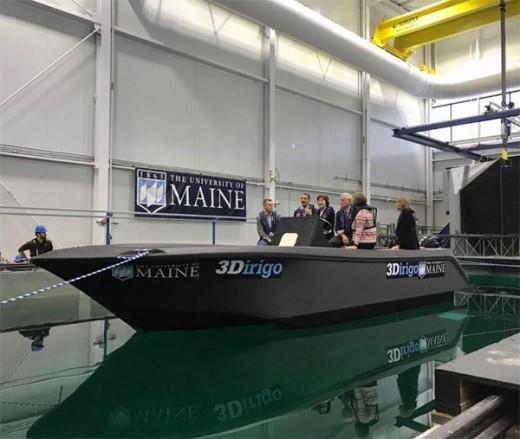 The Biggest 3D Printer Printed Huge Boat