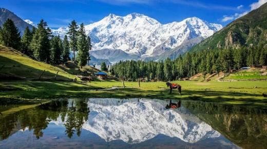 Beautiful View of Gilgit Baltitan GB