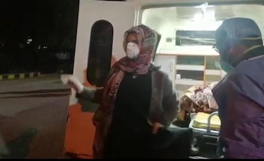 Pakistani Passenger Isolated over Corona Virus in Peshawar