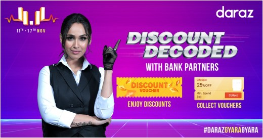 Daraz Offers Easy Monthly Discounts And Installments With Its 11 Payment Partners In Pakistan