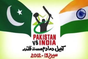 Pakistan vs India Cricket Series 2012-2013