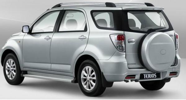 Daihatsu Terios 1.5 4WD Left Back Picture