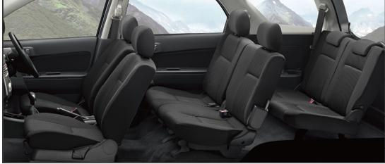 Daihatsu Terios 1.5 4WD Seats Pictures