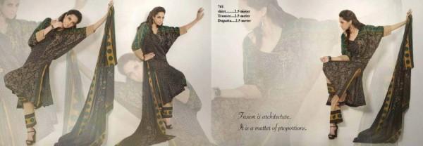 Ittehad Textiles Julia Lawn Collection 2013