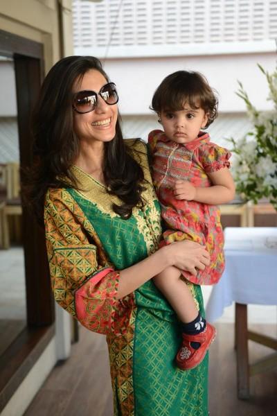 Nadia Malik with Daughter