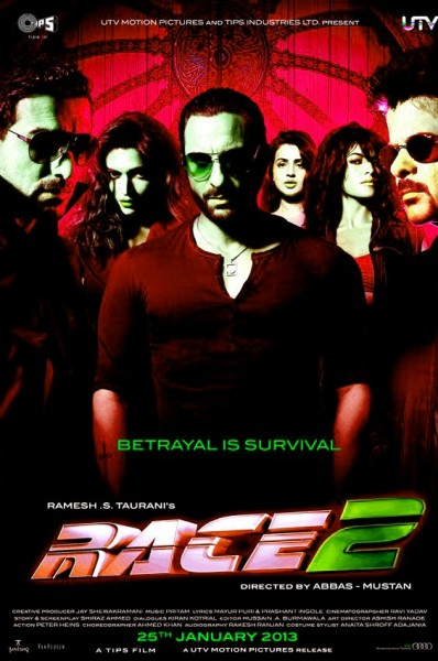 Race 2 2013 Movie Poster