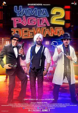 Yamla Pagla Deewana 2 2013 Movie Poster