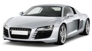 Audi R8 2013 Side view
