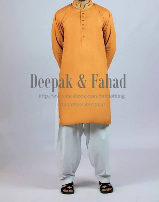 Deepak and Fahad Men Eid Collection 2013 Beautiful Dress Image