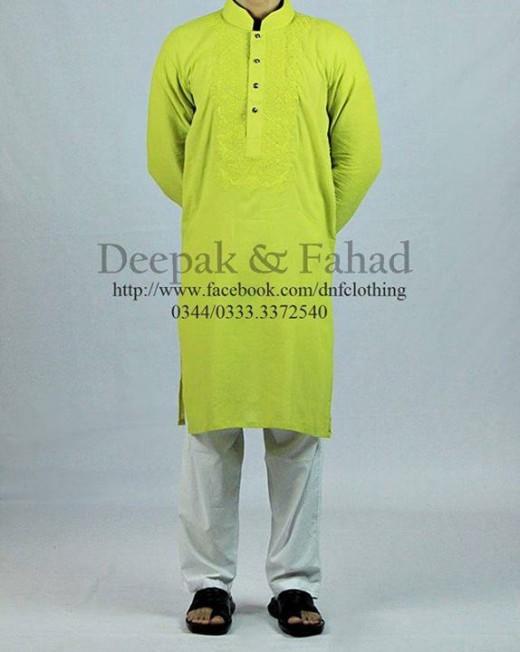 Deepak and Fahad Men Eid Collection 2013 Awesome Kurta Still