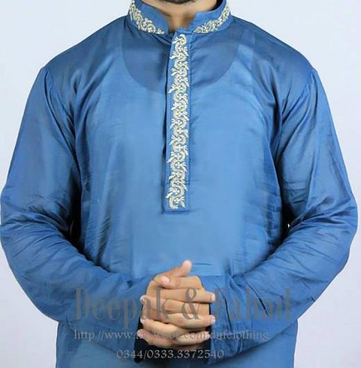 Deepak and Fahad Men Eid Collection 2013 Image