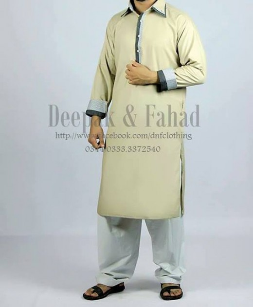 Deepak and Fahad Men Eid Collection 2013 Awesome Dress Wallpaper