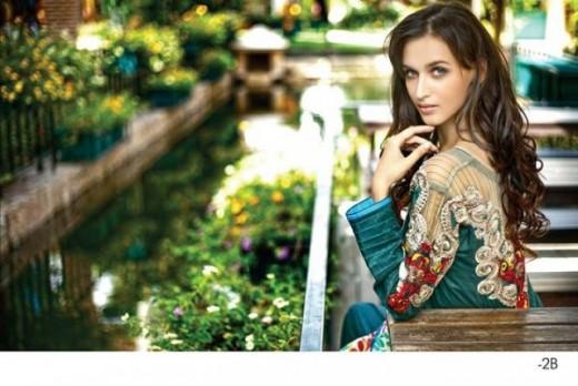 Firdous Latest Eid Lawn Dresses Collection 2013 Photograph