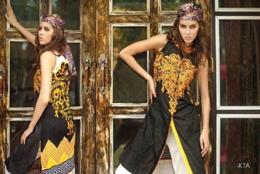 Firdous Latest Eid Lawn Dresses Collection 2013 Image Still