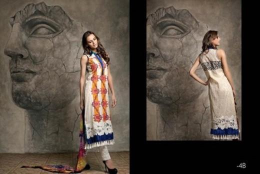 Firdous Latest Eid Lawn Dresses Collection 2013 Snap