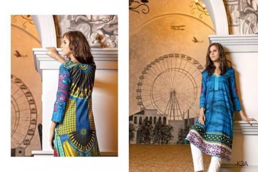 Firdous Latest Eid Lawn Dresses Collection 2013 Picture