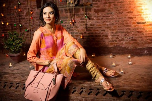 Gul Ahmed Ideas Men and Women Eid Collection 2013 Image