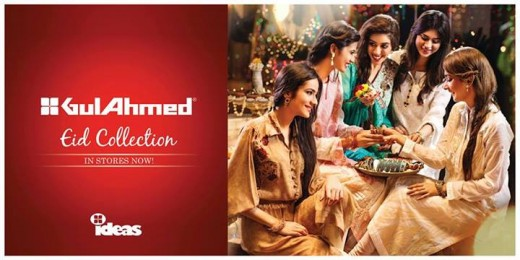 Gul Ahmed Ideas Men and Women Eid Collection 2013 Photo