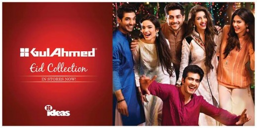 Gul Ahmed Ideas Men and Women Eid Collection 2013 Snapshot