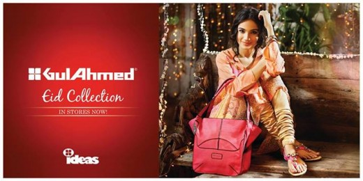 Gul Ahmed Ideas Men and Women Eid Collection 2013 Still Image