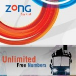 ZONG Unlimited Free Numbers