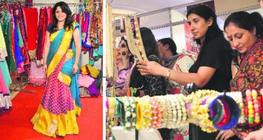 Bridal dressing fashion show