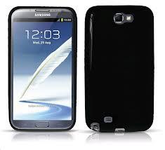 Black Galaxy Note II Mobile Phone
