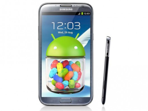 Latest Mobile Galaxy Note II