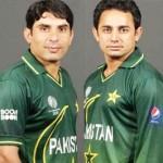 Misbah ul Haq and Saeed Ajmal