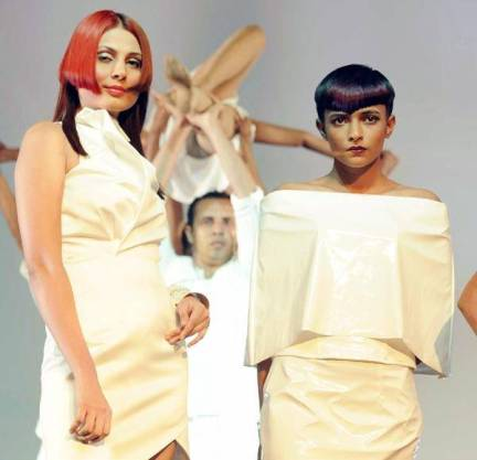 Models Performed with beautiful Hairstyles Held in Mumbai