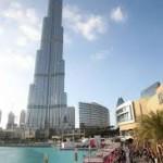ubai Burj Khalifa vertical cat walk show