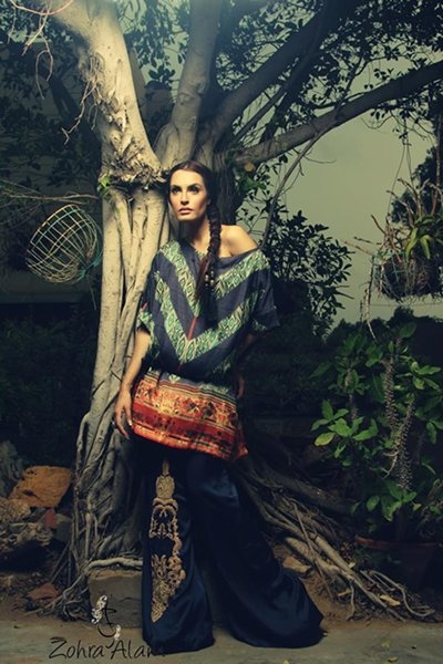 Zohra Alam Fall Collection 2014 For Women