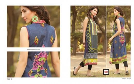 LSM Fabrics Women Winter Dresses 2014 Volume 4