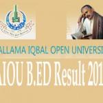 AIOU B.ED Result 2105
