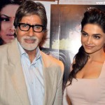 Amitabh Bachchan and Deepika Padukone
