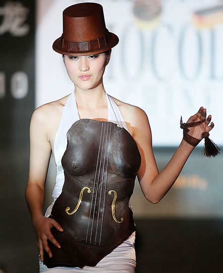 Chocolate Fashion Show images