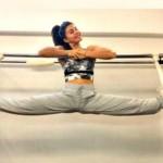 Jacqueline Fernandez Training for Martial Art