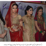 Colorful Bridal Fashion Show & Competition in Sargodha
