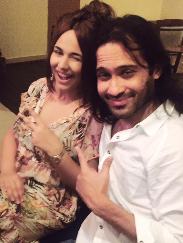 Ayyan Ali 1st selfie with Waqar Zaka after bail