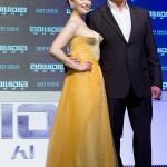 Emilia Clarke & Arnold Schwarzenegger