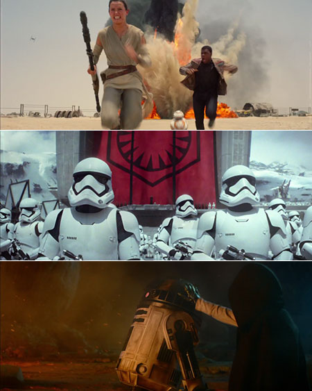 Stars Wars The Force Awakens Pictures