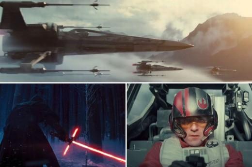 Stars Wars The Force Awakens Episode VII Scenes