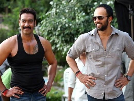 Ajay Devgan and Rohit Shetty