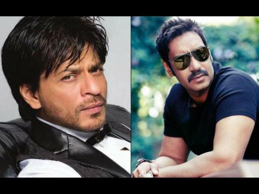 SRK and Ajay Devgan