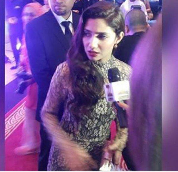 Mahira Khan Masala Awards 2015 Pictures