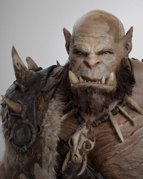 Warcraft Orgrim Action Poster