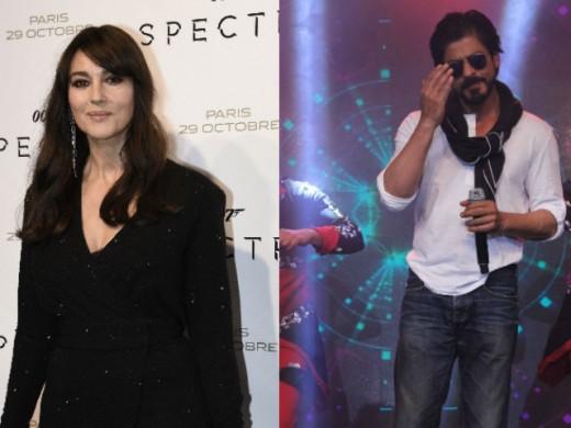 Monica Belochi and Shah Rukh Khan 03
