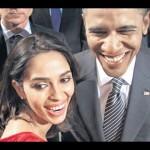 Mallika Sherawat and Obama Selfie